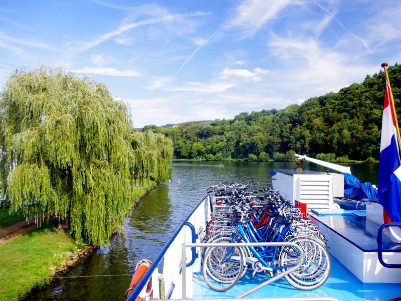 Radkreuzfahrt Neckar Rhein
