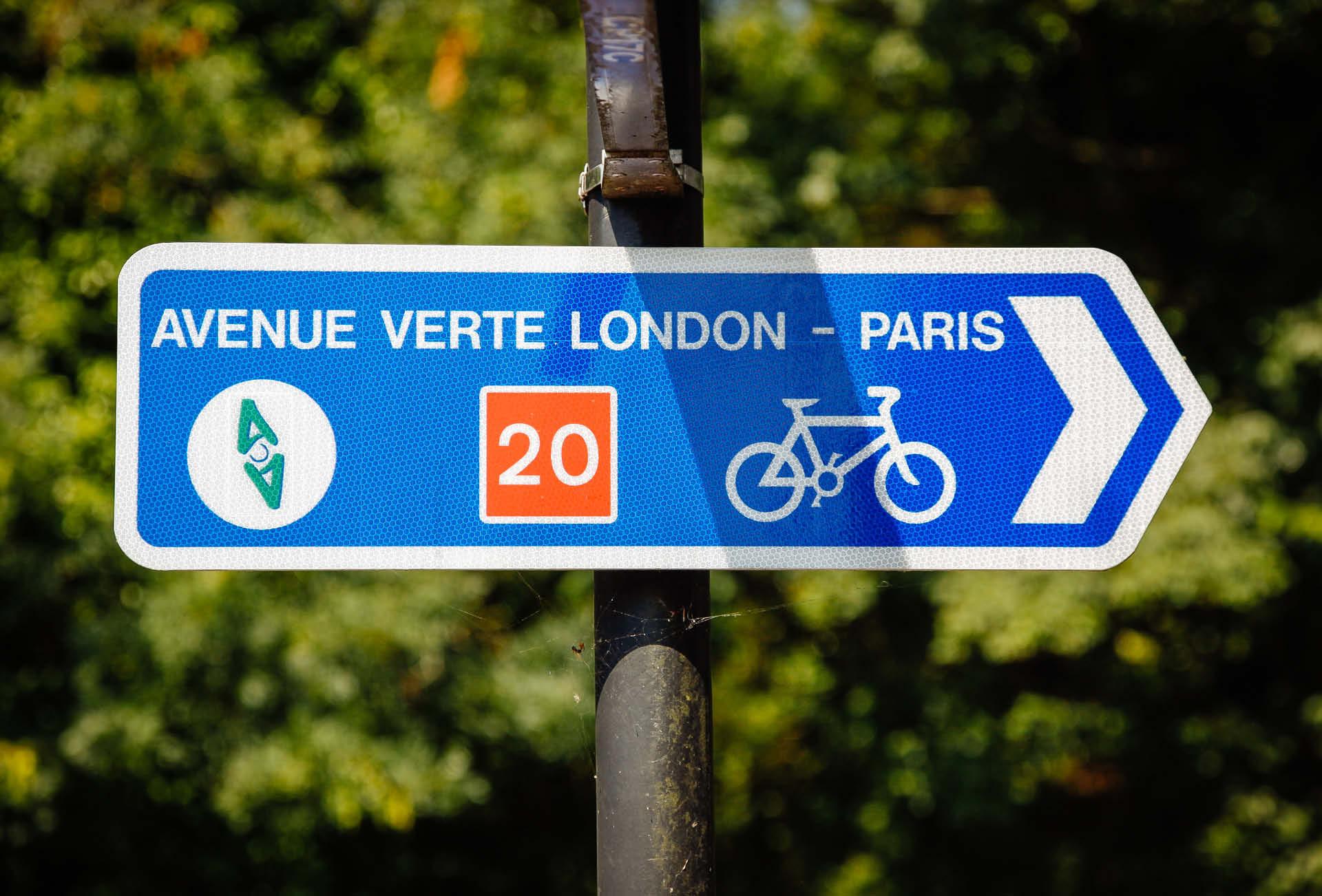 Radtour Paris London