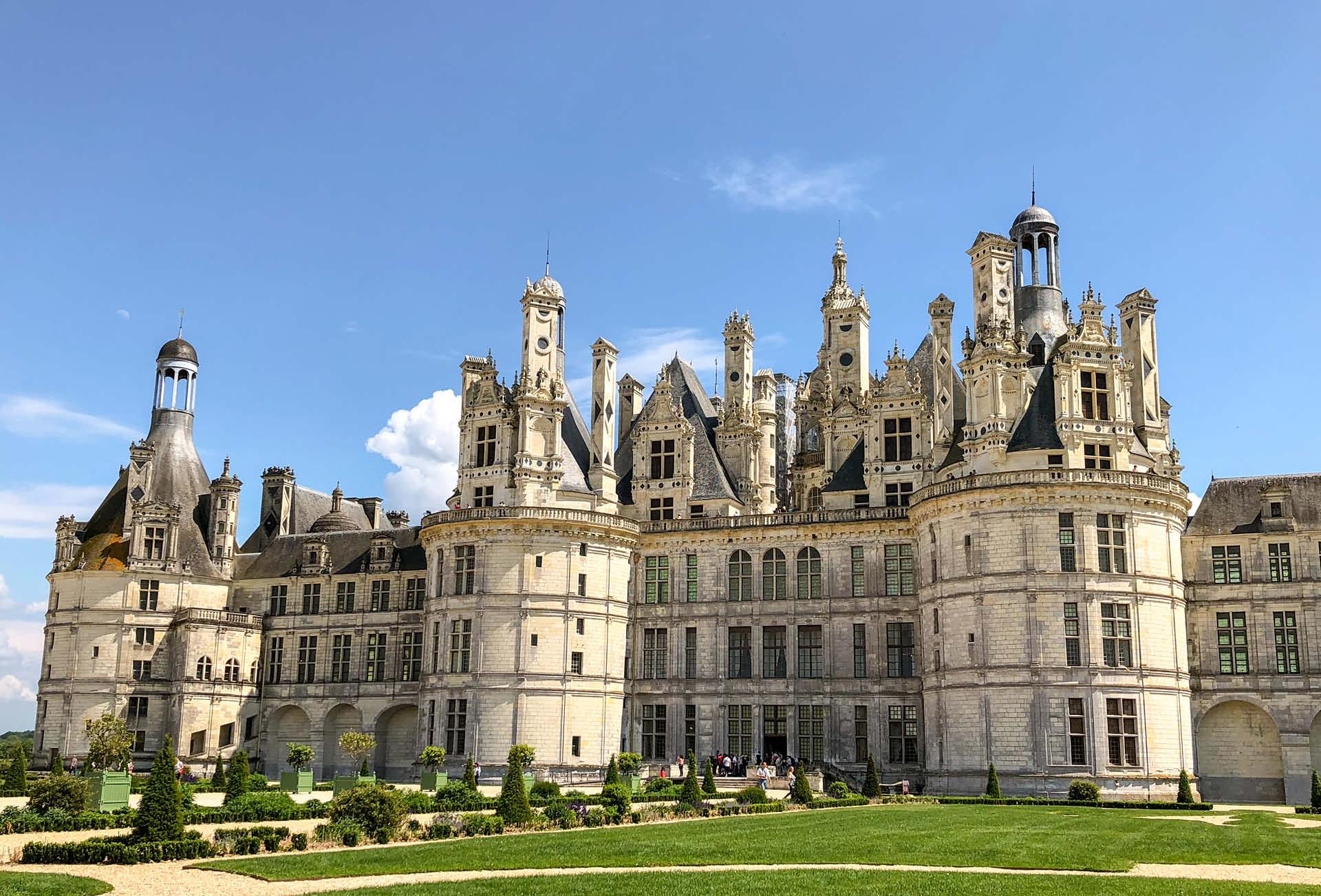 Radtour Schlösser der Loire