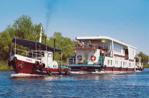 Radkreuzfahrt Donaudelta